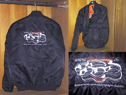 D.A. Bomberjacke m. Emblem