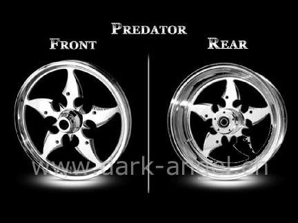 ExoS-Felgen Predator d.-a.