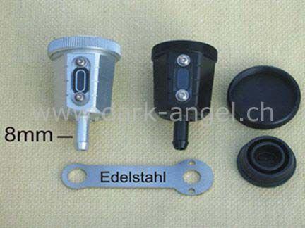 GSG-Ausgleichsbehälter für Schlauchanschluss d.-a.